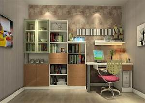 Inspiring study room ideas images with bedroom with study for Study room decoration in home