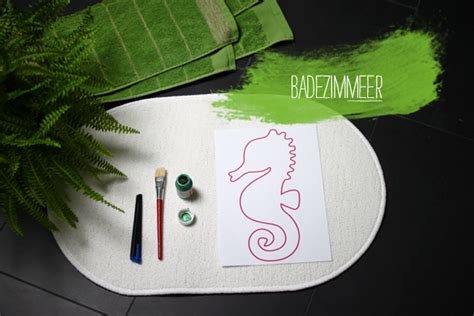 Diy Badezimmerteppich  We Love Handmade