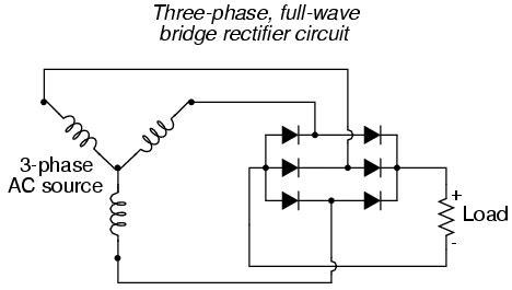 Diodes Standard Three Phase Connection
