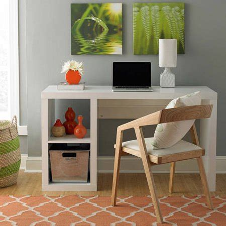 desk with storage cubes better homes and gardens cube organizer desk
