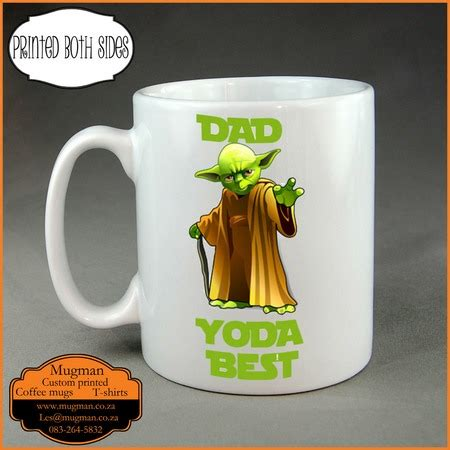 Coffee mugs are a kitchen staple that everyone should have. Yoda best Dad coffee mug Fathers day or birthday Gift - Mugman