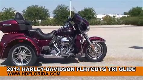 New 2014 Harley Davidson Trike Three Wheeler Motorcycles