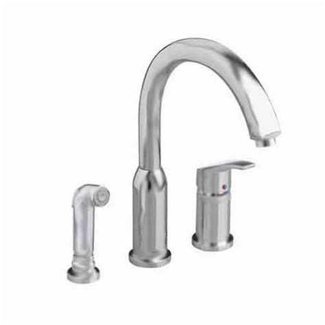 single handle kitchen faucet with side spray standard arch single handle side sprayer kitchen