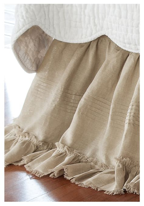 shabby chic bed skirts heritage bed skirt