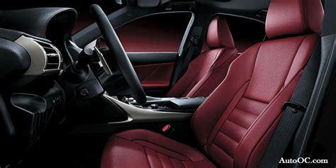 lexus is 250 red interior lexus 2014 is 250 f sport