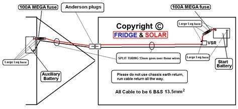 fridge mega set dual battery systems alternator charging how it should