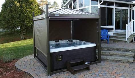 tub enclosures for sale tub gazebos enclosed open air gazebos calspas of