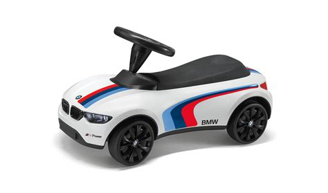 Bmw Genuine Baby Racer Iii M Sport White Push Car Toy Led