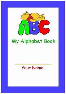 5 best images of abc book printable template free With printable alphabet book template
