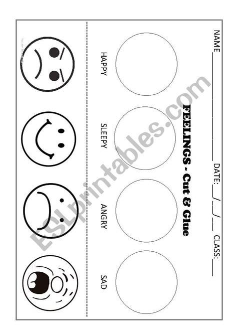 feelings  emotions esl worksheet  renate oliveira