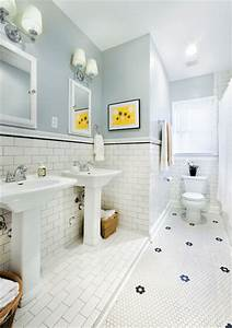 1930s bathroom updated for 21st century traditional With 1930 bathroom style