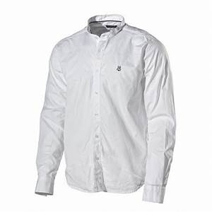 Chemise Sans Col Homme : chemise blanche sans col holebrook ~ Louise-bijoux.com Idées de Décoration