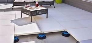 Dalle Sur Plots : plot dalle jouplast pour terrasse carra france ~ Farleysfitness.com Idées de Décoration