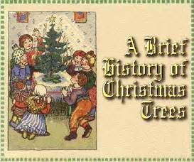 a brief history of christmas trees from family christmas online