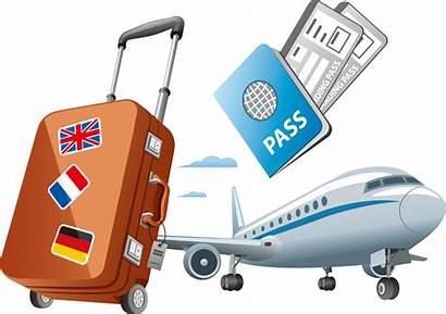 Travel Clipart Transparent Clip Passport Air Airplane