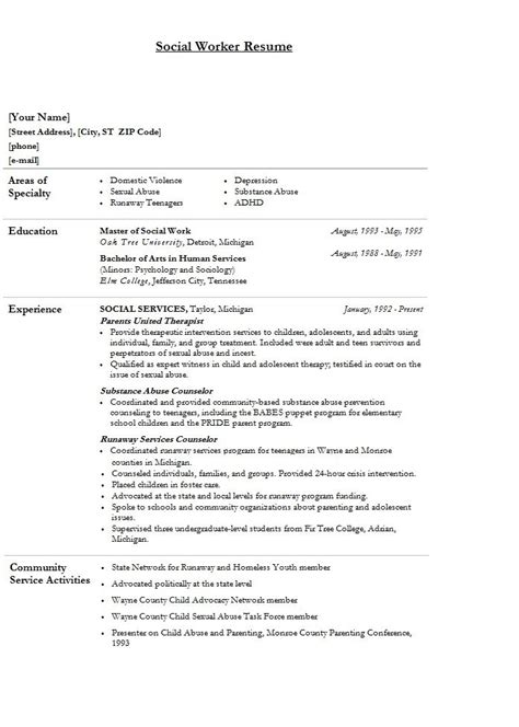 msw resume 100 images 2015 may bspears msw resume