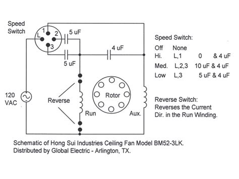 ceiling fan 3 speed switch wiring diagram agnitum me
