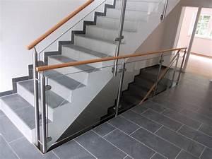 Treppengeländer Mit Glas : treppengel nder innen von kirchberger metallbau ~ Markanthonyermac.com Haus und Dekorationen