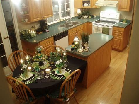 kitchen island with attached table kitchen islands dining tables and islands on 8233