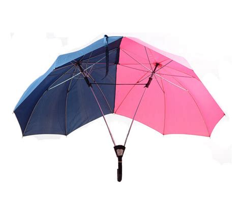 50pcs novelty the umbrella lover couples two person