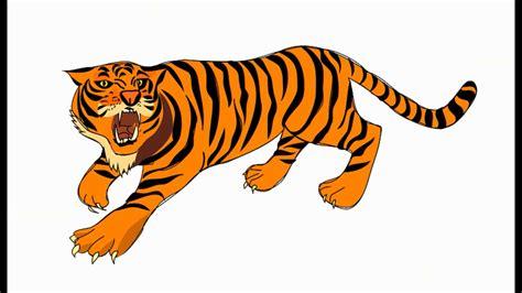 El Sonido Del Tigre Para Niños (animado) Videos Infantiles