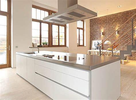 Minimal Super Stylish White Kitchen  Bulthaup B1
