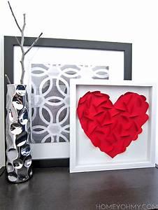 Diy heart wall art homey oh my