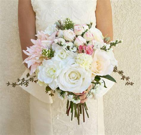 artificial wedding bouquets ideas  pinterest