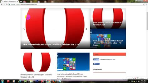 4.9 (730) 8166 views / 5952 dl. How to Download & Install Opera Mini in PC Windows 7/8.1/10 - YouTube