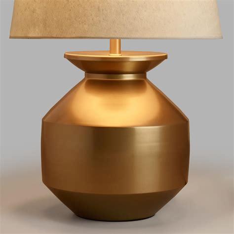 Gold Matki Table Lamp Base  World Market