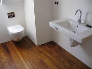 Holz Im Badezimmer : holz o holzdielen im badezimmer bodenblog ~ Lizthompson.info Haus und Dekorationen