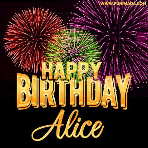 happy birthday gifs  alice   funimadacom