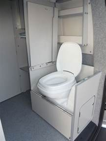 Small Camper Van with Toilet Shower