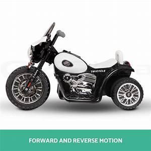 Moto Style Harley : kids electric ride on motorbike motorcycle harley style toy battery police car ebay ~ Medecine-chirurgie-esthetiques.com Avis de Voitures