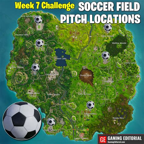 fortnite week  challenges cheat sheet guide map