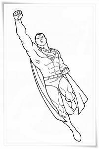 Ausmalbilder, Zum, Ausdrucken, Ausmalbilder, Superman