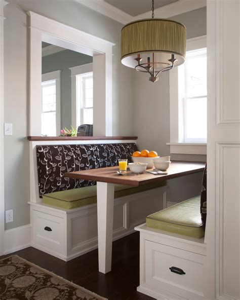 kitchen alcove ideas kitchen booth seating kitchen transitional with banquette