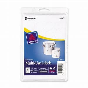 avery removable print or write labels for laser and inkjet With avery template 5472