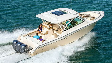 Where Are Grady White Boats Built by Grady White Freedom 375 Review Boat