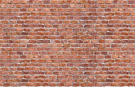 brick wallpaper rundown red brick textures plain