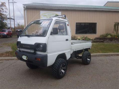 Suzuki Mini Trucks For Sale by 1990 Suzuki Carry 4x4 Mini Truck Japanese Kei Truck