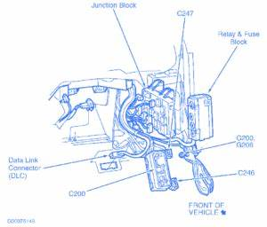 Dodge Caliber 2009 Connection Electrical Circuit Wiring