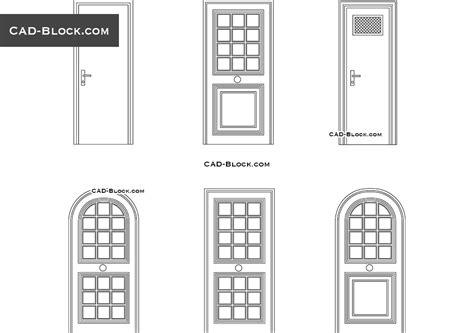 Porte D Ingresso Dwg by Door Dwg Autocad Tempered Glass Door Cad Blocks