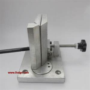 dual axis metal channel letter angle bender bending tools With manual channel letter bender