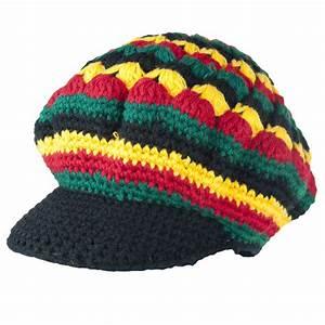 Exodus Rasta Wool Knit Brim Hat RastaEmpire com