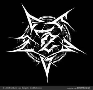 metal design modblackmoon metal black metal band logo design for artists