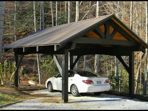 Wooden Car Ports by Carport Ideas Building Your Own Wood Carport