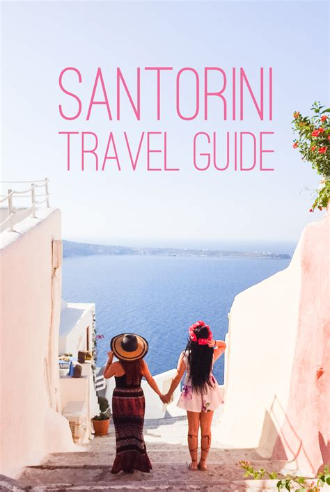 Oia Santorini Travel Guide With Local Restaurant