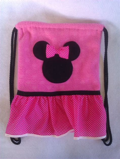 blue pink mickey minnie mouse backpack party pack