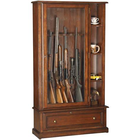 Gun Cabinet by American Furniture Classics 174 12 Gun Curio Cabinet